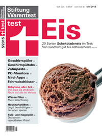 Stiftung Warentest - test 05/2015